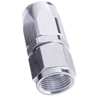 Aeroflow AF101-08S -8AN Taper Series Straight Hose End Silver