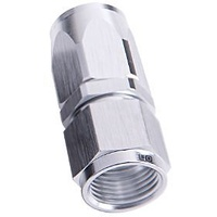 Aeroflow AF101-16S -16AN Taper Series Straight Hose End Silver
