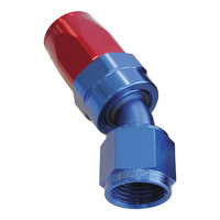 AEROFLOW 100 SERIES SWIVEL TAPER 30° HOSE END -16AN BLUE/RED AF117-16