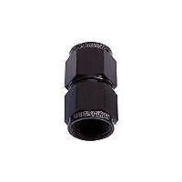 Aeroflow AF131-03BLK Straight Female Flare -3AN Black Swivel Coupler