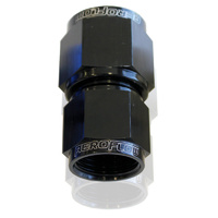 Aeroflow AF131-08-10BLK Swivel Coupler Reducer -10AN to -8AN Black Female Reducer