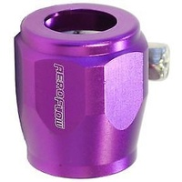 "Aeroflow AF150-16PUR Hex Hose Finisher 30.5mm ID Purple 1-3/16"" ID Clamp"