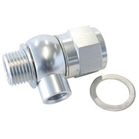"Aeroflow AF166-05-02S LS Chevy Oil Pressure Adapter Allows 1/8"" NPT AUx Port"
