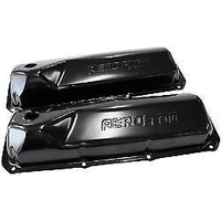 Aeroflow AF1822-5001 Ford 302-351C Valve Cover Black with Aeroflow Logo