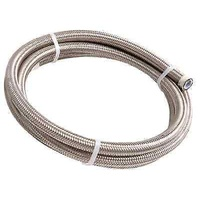 AEROFLOW 200 SERIES PTFE STAINLESS STEEL BRAIDED HOSE -3AN AF200-03-1M