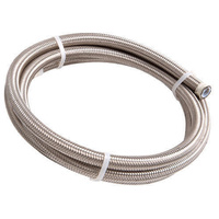 AEROFLOW 200 SERIES PTFE STAINLESS STEEL BRAIDED HOSE -4AN X 1M AF200-04-1M