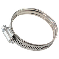 "Constant Tension Dual Bead Stainless Hose Clamp (100mm (3.93"") to 120mm (4.72"") Clamping Range)"