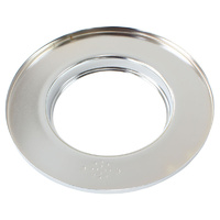 "Aeroflow AF2851-0900 9"" Air Cleaner Base Only Flat Base Chrome"