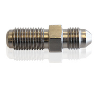 Aeroflow AF344-03 -3AN to Inverted M10 x 1.0mm Stainless Male to Male