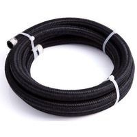 AEROFLOW 450 SERIES BLACK BRAIDED LIGHT WEIGHT HOSE -6AN AF450-06-4.5M