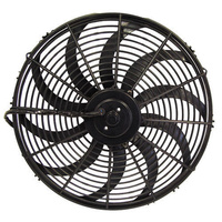 "Aeroflow AF49-1001 12"" Curved Blade Electric Fan Reversible 1400Cfm"