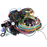 Aeroflow AF49-1501 Complete 21 Circuit Wiring Harness Kit w/ Fuses & Fuse Panel