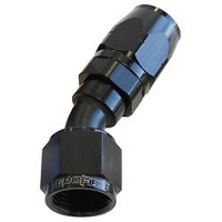 AEROFLOW 500 SERIES CUTTER STYLE 30° HOSE END -12AN BLACK AF507-12BLK