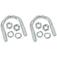 "Aeroflow AF5074-1006 Forged U-Bolts (Pair) suits 1-1/8"" Cap"