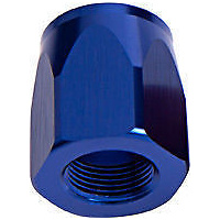 AEROFLOW ALLOY CUTTER STYLE HOSE END SOCKET -16AN BLUE AF559-16DCBL