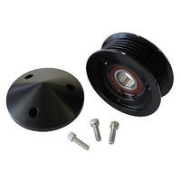 AEROFLOW REPLACEMENT LS TENSIONER PULLEY AF59-4031BLK BLACK WITH NOSE COVER