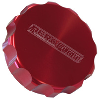 Aeroflow AF59-460-40R Replacement Billet Cap suits -40 Base Red Anodised