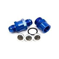 Aeroflow AF608-06 -6AN Inline Fuel & Oil Filter Blue 3 x Filter 30 80 150 Micr