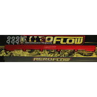 Aeroflow AF64-2010R Fuel Rail Kit Rb25 Red