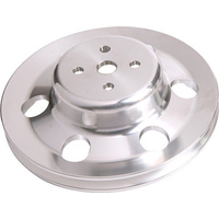 AEROFLOW 4 BOLT BILLET ALLOY WATER PUMP PULLEY FORD CLEVELAND 302-351 AF64-2023