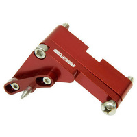 "Aeroflow AF64-2051R BBC 6-1/4"" Timing Pointer Red with 4 Deg Of Adjustment"