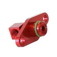 AEROFLOW FUEL RAIL ADAPTER RED SUBARU STI EJ25 2008-ON AF64-2067R