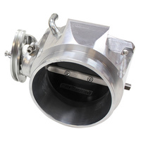 Aeroflow AF64-2069 LS Chev 90mm Throttle Body 4 Bolt Polished *See Notes*