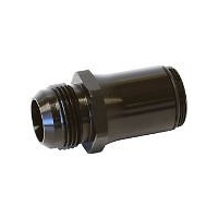 AEROFLOW -20 AN WATER NECK ADAPTER - BLACK AF64-2074BLK