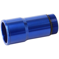 "AEROFLOW 1.5"" RADIATOR HOSE ADAPTER SHORT 4.5"" LONG BLUE AF64-2081"