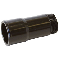 "AEROFLOW 1.75"" RADIATOR HOSE ADAPTER 4.5"" LONG BLACK AF64-2083BLK"