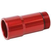 "Aeroflow AF64-2083R 1.75"" Radiator Hose Adapter Red Long 4.5"" Length Cvr"