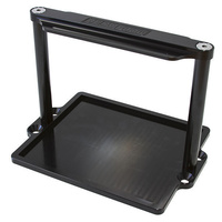 Billet Aluminium Battery Trays (Suit Odyssey ODPC925MJT battery, Black finish) (AF64-2101BLK)