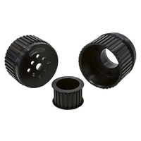 Aeroflow AF64-3001BLK Gilmer Drive Kit - Black Chev V8 with Long W/Pump