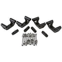 AEROFLOW HOLDEN/CHEV LS1 & LS6 BILLET COIL RELOCATION KIT BLACK AF64-4032BLK