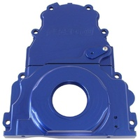 AEROFLOW 2 PCE ALLOY TIMING COVER AF64-4361 BLUE SUIT GM LS1/LS2/LS3/LS6 V8