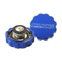 Aeroflow AF64-5032 Billet Radiator Cap 32mm 1.1B Complete with Billet Cover
