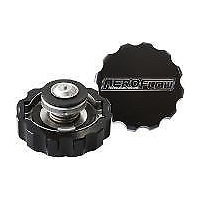 Aeroflow AF64-5032BLK Billet Radiator Cap 32mm 1.1B Complete with Billet Cover