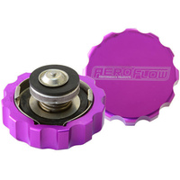 Aeroflow AF64-5042PUR Billet Radiator Cap 42mm .5Bar Complete with Billet Cover