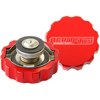 AEROFLOW ALUMINIUM 16PSI RADIATOR CAP SUIT 42MM NECK RED AF64-5042R