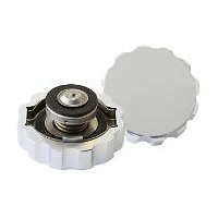 Aeroflow AF64-5042S Billet Radiator Cap 42mm .5Bar Complete with Billet Cover