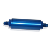 AEROFLOW HIGH PRESSURE 140 MICRON NITROUS FILTER -6AN MALE IN/OUTLETS AF66-2041