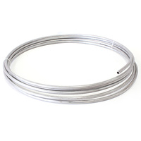 "Aeroflow AF66-3000SS 3/8"" S/Steel Fuel Line (9.5mm )Stainless Steel Hard Line"