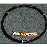 "AEROFLOW 1/2"" ALUMINIUM HARD FUEL LINE 25 FOOT ANODISED BLACK AF66-3001BLK"