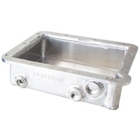 "AERFOLOW 3"" DEEP FABRICATED ALLOY TRANSMISSION PAN FORD C-4 NATURAL AF72-3000"