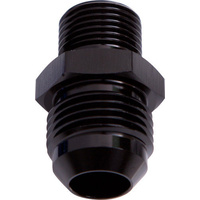 Aeroflow AF732-08BLK Metric M14 x 1.5mm to -8AN Black Male M14 x 1.5mm to -8An