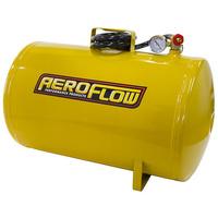 AEROFLOW 10 GALLON PORTABLE AIR TANK INCLUDES LINE & GAUGE 125PSI AF77-3011
