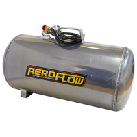 AEROFLOW 10 GALLON PORTABLE ALUMINIUM AIR TANK WITH LINE GAUGE 125PSI AF77-4001