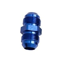 Aeroflow AF815-06 Male Flare Union -6AN Blue -6AN to -6AN Straight