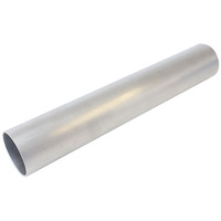 "AEROFLOW AF8601-225 ALUMINIUM TUBE 2-1/4"" (57mm) DIAMETER 12"" LONG 5/64"" WALL"