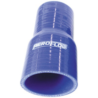 "Aeroflow AF9001-250-225 Silicone Hose Reducer Str Bluei.D 2.50-2.25"" 63-57mm Wall 5.3mm 127mm Long 9001-250-225"